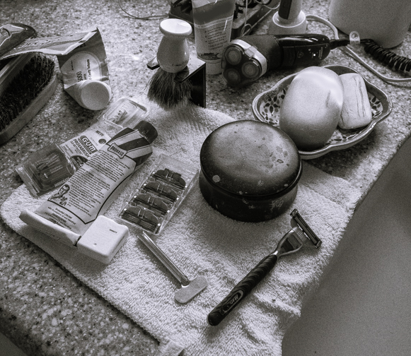 Home Bathroom with Shaving Implements-8-Edit