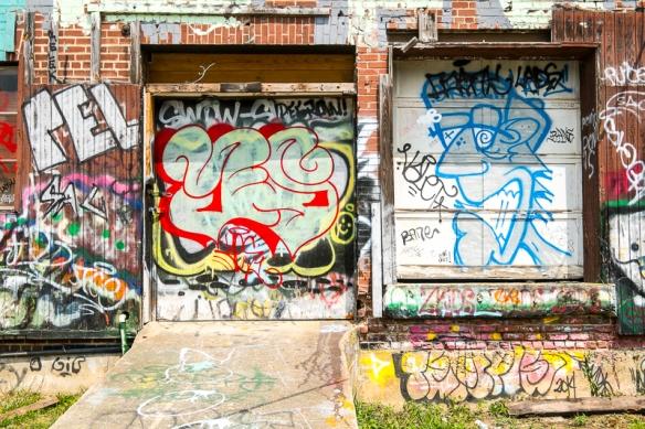 Asheville Graffiti with Alice-53