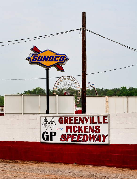 Greenville-Pickens Speedway and Signs for Michael-0355
